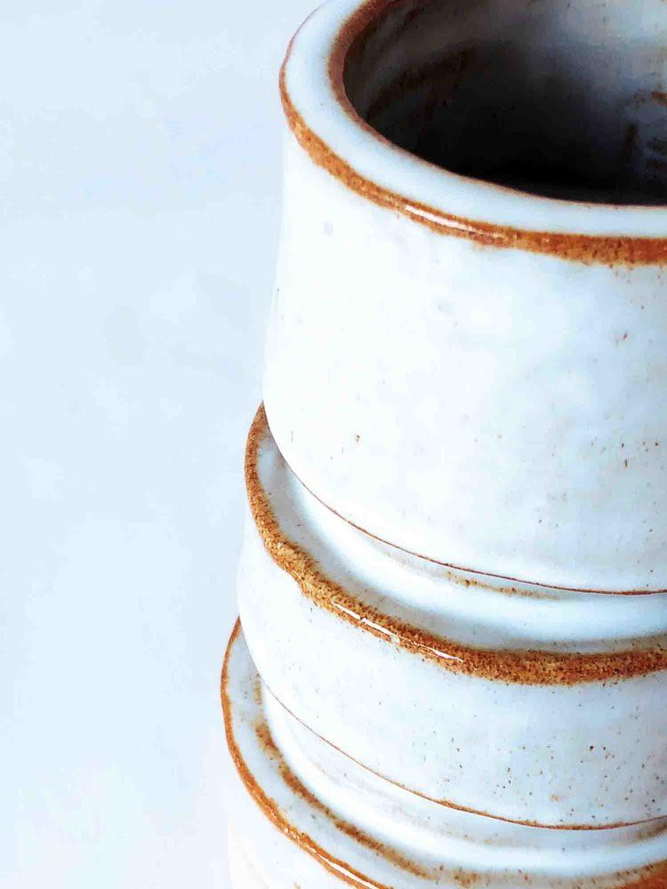 florero de cerámica